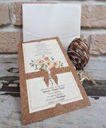 Invitatie de nunta cod 2763 din Catalogul Popular