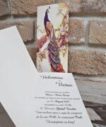 Invitatie de nunta cod 2765 din Catalogul Popular