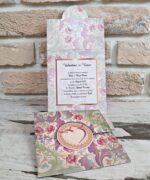 Invitatie de nunta cod 2771 din Catalogul Popular