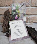 Invitatie de nunta cod 2772 din Catalogul Popular