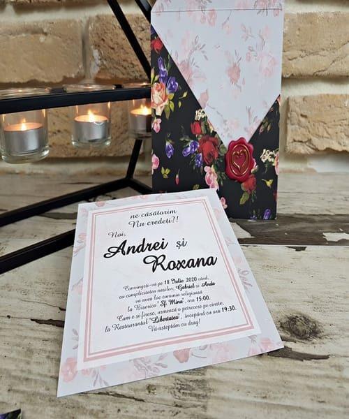 Invitatie de nunta cod 2773 din Catalogul Popular