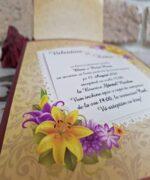 Invitatie de nunta cod 2774 din Catalogul Popular