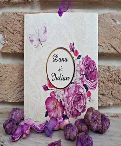 Invitatie de nunta cod 2777 din Catalogul Popular