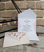 Invitatie de nunta cod 2778 din Catalogul Popular