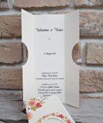 Invitatie de nunta cod 2781 din Catalogul Popular