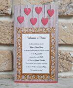 Invitatie de nunta cod 2788 din Catalogul Popular