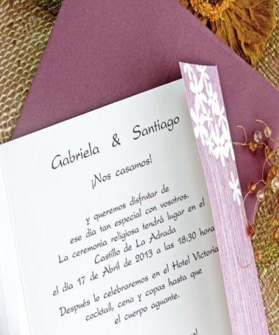 Invitatie de nunta cod 32717 din Catalogul Alice