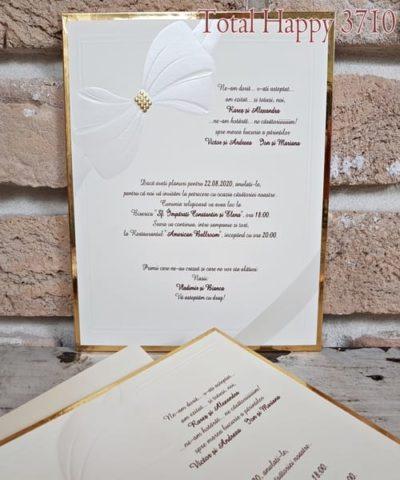 Invitatie de nunta cod 3710 din Catalogul Sedef