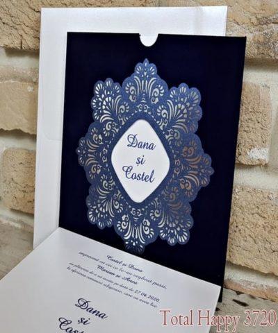 Invitatie de nunta cod 3720 din Catalogul Sedef