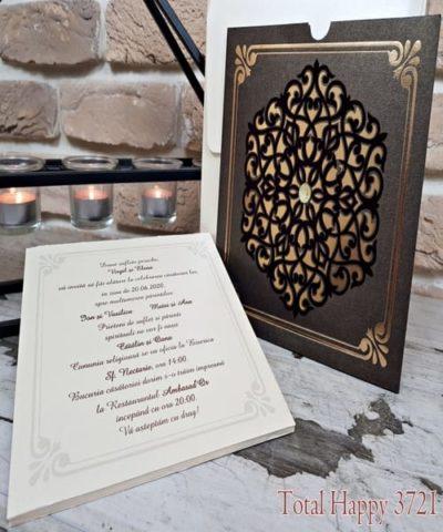 Invitatie de nunta cod 3721 din Catalogul Sedef
