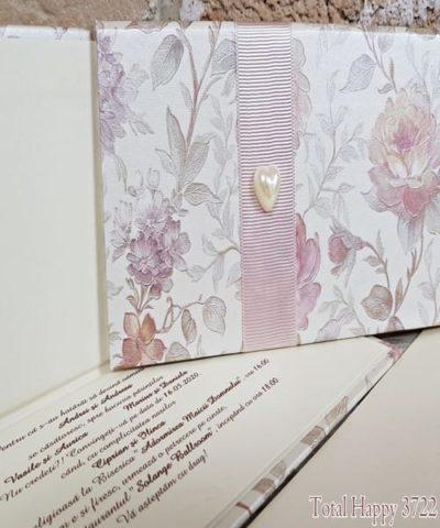 Invitatie de nunta cod 3722 din Catalogul Sedef
