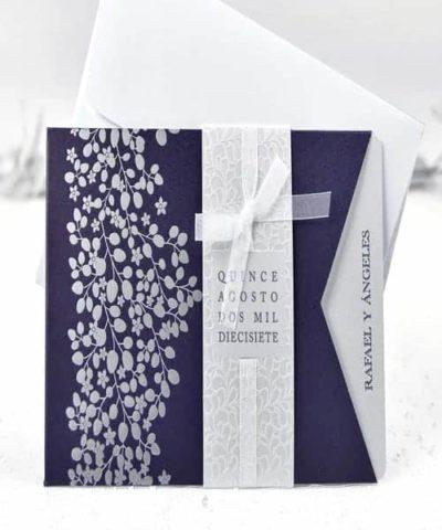 Invitatie de nunta cod 39111 din Catalogul Alice