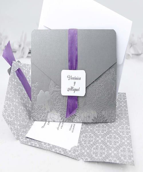 Invitatie de nunta cod 39113 din Catalogul Alice