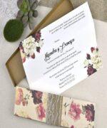 Invitatie de nunta cod 39601 din Catalogul Alice
