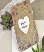 Invitatie de nunta cod 39606 din Catalogul Alice