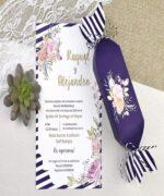 Invitatie de nunta cod 39607 din Catalogul Alice