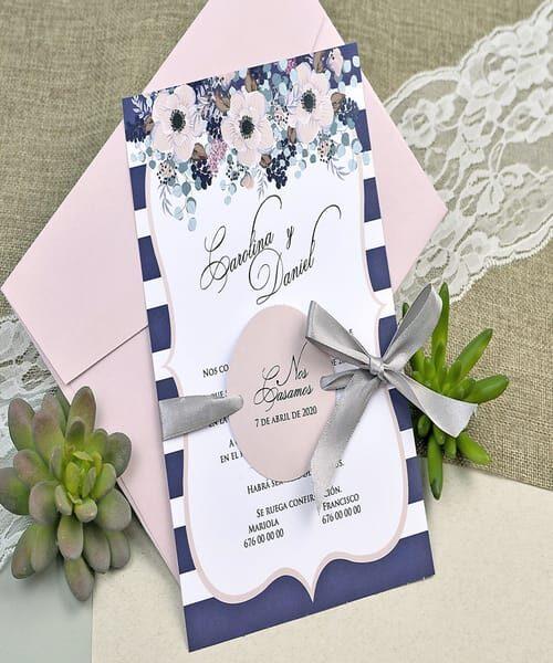 Invitatie de nunta cod 39609 din Catalogul Alice