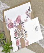 Invitatie de nunta cod 39611 din Catalogul Alice