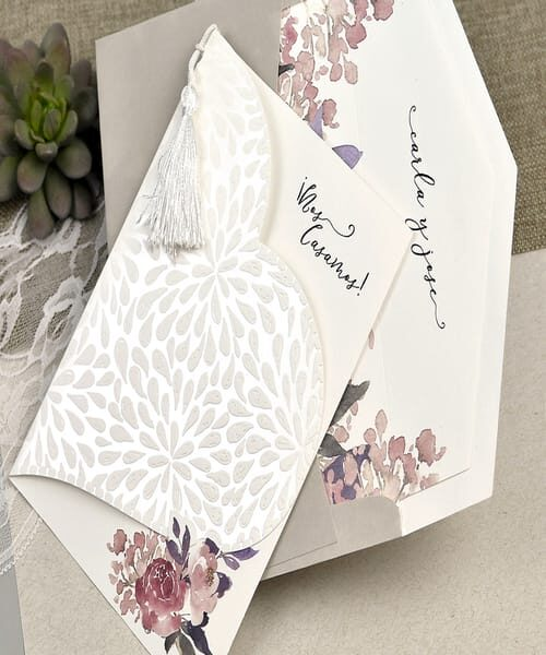 Invitatie de nunta cod 39612 din Catalogul Alice