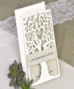 Invitatie de nunta cod 39616 din Catalogul Alice