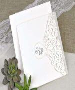 Invitatie de nunta cod 39617 din Catalogul Alice