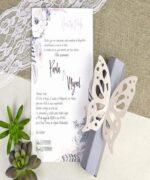 Invitatie de nunta cod 39619 din Catalogul Alice