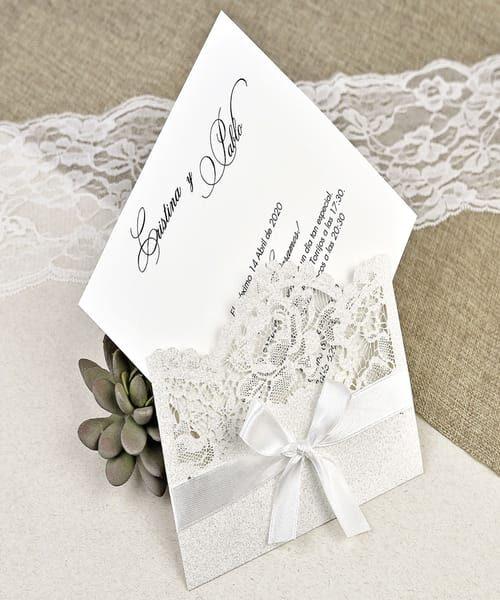 Invitatie de nunta cod 39621 din Catalogul Alice