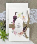 Invitatie de nunta cod 39622 din Catalogul Alice