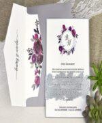 Invitatie de nunta cod 39630 din Catalogul Alice