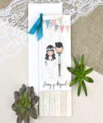Invitatie de nunta cod 39631 din Catalogul Alice