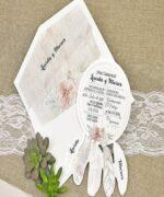 Invitatie de nunta cod 39633 din Catalogul Alice