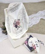 Invitatie de nunta cod 39638 din Catalogul Alice