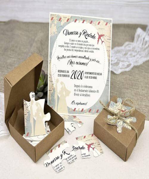 Invitatie de nunta cod 39639 din Catalogul Alice
