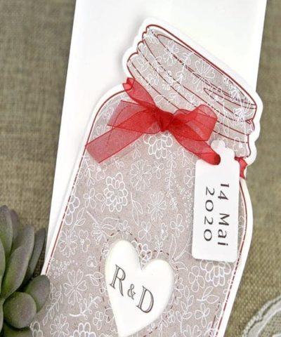 Invitatie de nunta cod 39641 din Catalogul Alice