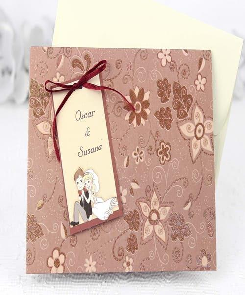 Invitatie de nunta cod 32416 din Catalogul Emma