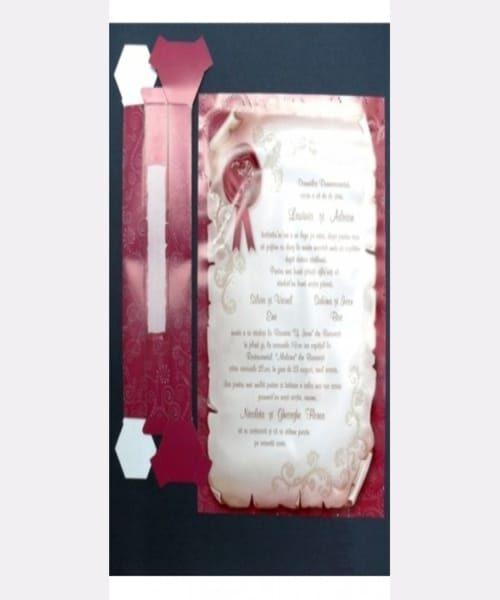 Invitatie de nunta cod 32428 din Catalogul Emma