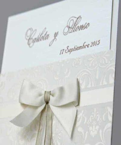 Invitatie de nunta cod 34904 din Catalogul Emma