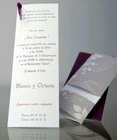 Invitatie de nunta cod 34906 din Catalogul Emma