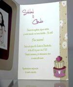 Invitatie de nunta cod 34912 din Catalogul Emma