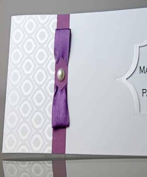 Invitatie de nunta cod 34916 din Catalogul Emma