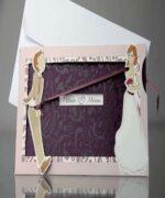 Invitatie de nunta cod 34932 din Catalogul Emma