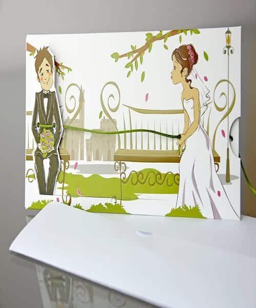Invitatie de nunta cod 34937 din Catalogul Emma