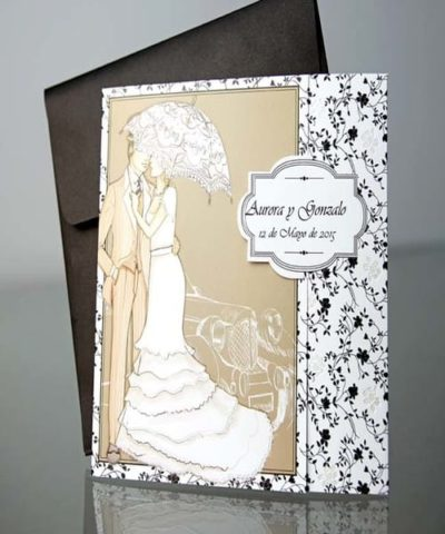 Invitatie de nunta cod 34944 din Catalogul Emma