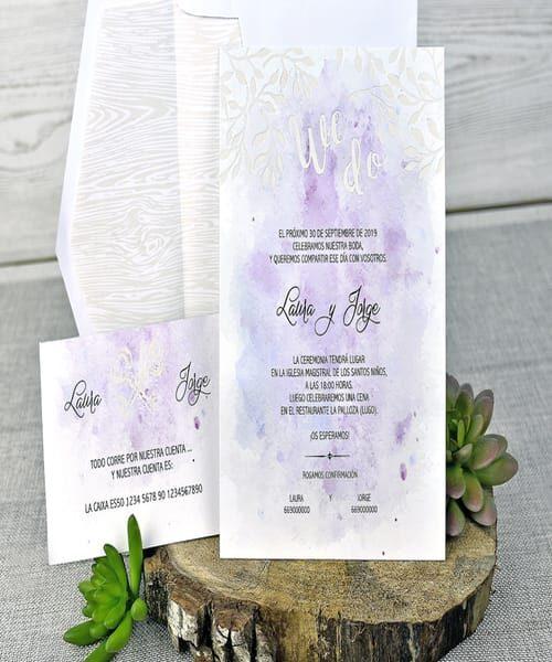 Invitatie de nunta cod 39304 din Catalogul Emma