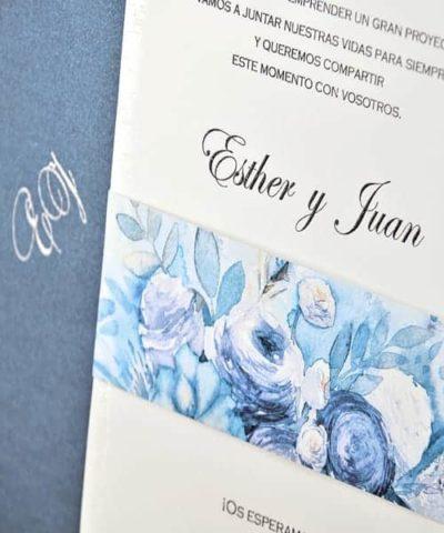 Invitatie de nunta cod 39305 din Catalogul Emma