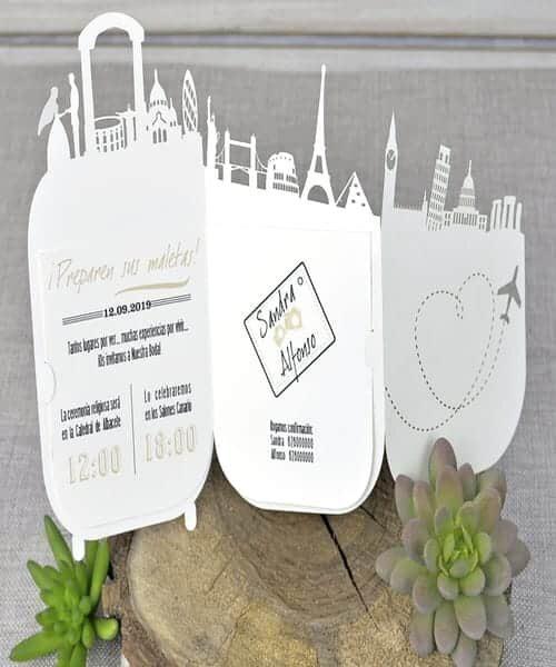 Invitatie de nunta cod 39334 din Catalogul Emma