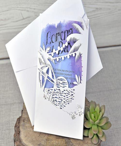Invitatie de nunta cod 39335 din Catalogul Emma