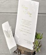 Invitatie de nunta cod 39338 din Catalogul Emma