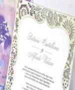 Invitatie de nunta cod 39341 din Catalogul Emma