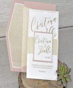 Invitatie de nunta cod 39342 din Catalogul Emma
